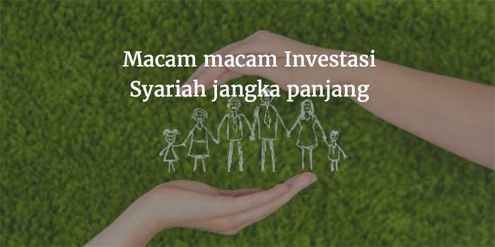 macam macam investasi syariah