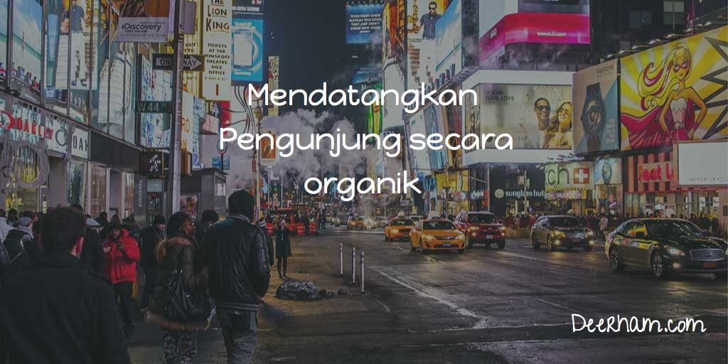meningkatkan pengunjung website organik