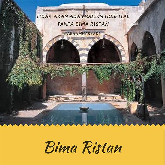 BimaRistan asal mula Rumah sakit modern