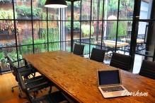 EVHive vertical garden coworking space jakarta