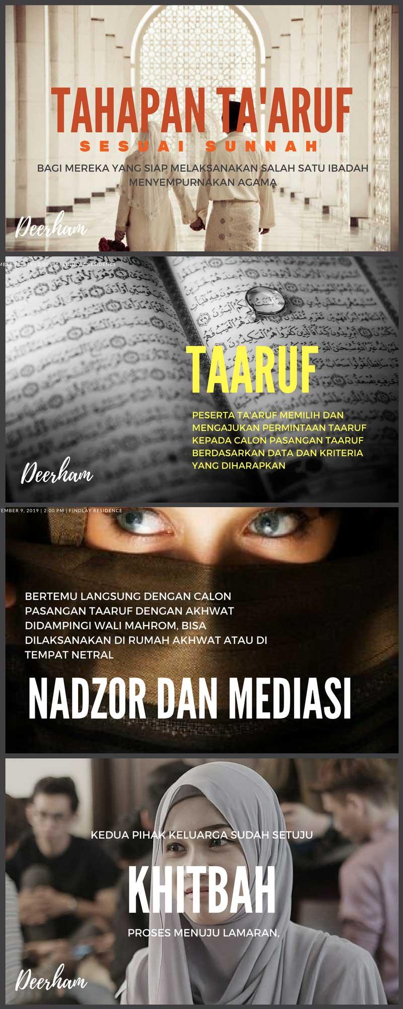 Tahapan Ta'aruf dalam islam yang sesuai sunnah