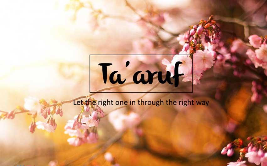 apa itu taaruf dalam islam